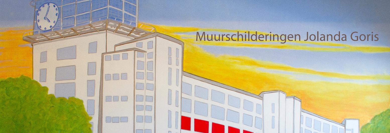 Muurschilderingen Jolanda Goris